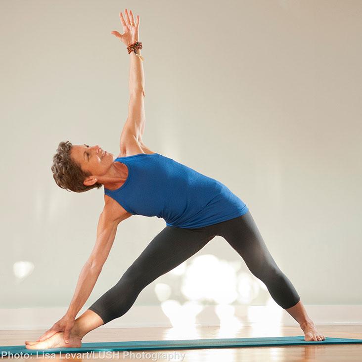 Betsy Ceva Teaches Hatha Yoga II++