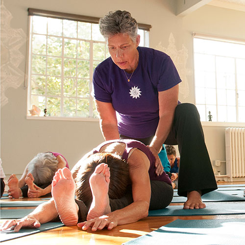 Charlene Bradin teaches Gentle Yoga
